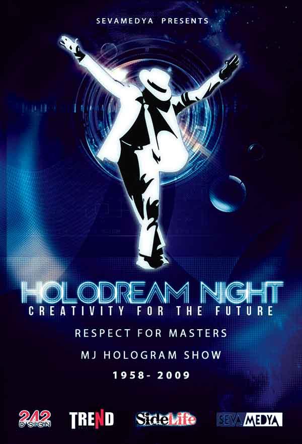 Holo Dream Night Poster
