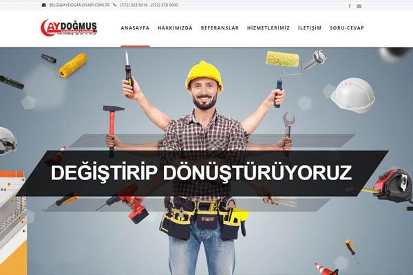 Aydoğmuş Yapı Website
