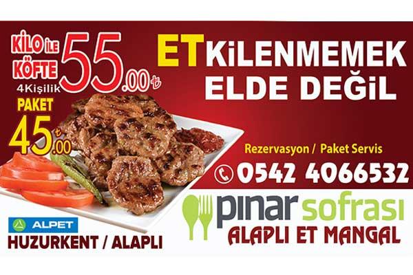 Pınar Sofrası Billboard 2